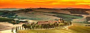 Autumn holidays in Tuscany